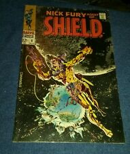 Nick Fury Agent of Shield 6 VG 4.0 famous Jim Steranko cover art lot collection