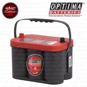 rtc4 2 batteria originale optima red top 50ah 815a fiat. Black Bedroom Furniture Sets. Home Design Ideas