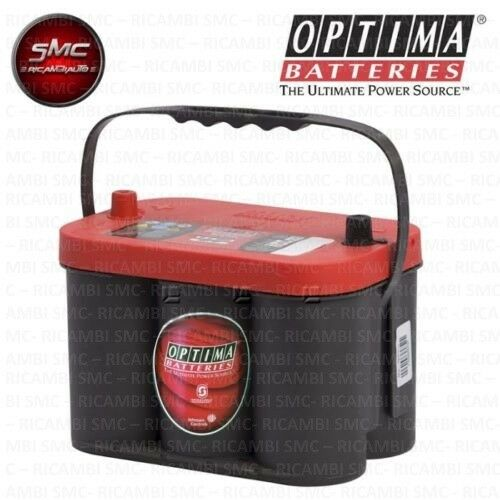 BATTERIA OPTIMA RTC4.2 REDTOP ROSSA 50Ah RT C 4.2 RED TOP
