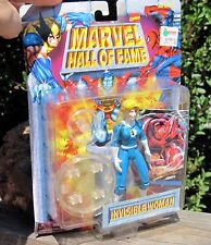 "RARE 1996 PVC  Marvel Toy Biz Fantastic 4 - Invisible Woman  5"" Figure W/Card +"