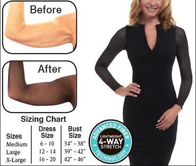 Amazing Arms Slimming And Concealing Arm Wrap From Flab To Fab Instantly!