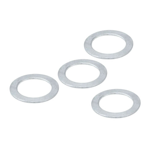 4Pcs Stainless Flat Washer Stainless Steel Bike Pedal Washer Fixed Gear Tool