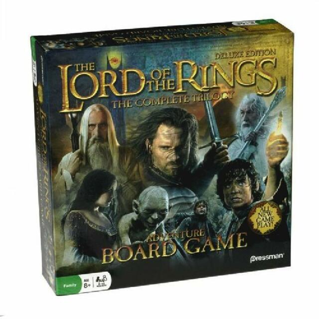 TOLKIEN ~ LORD OF THE RINGS ~ THE COMPLETE TRILOGY ~ ADVENTURE BOARD GAME ~ NEW!