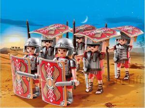 Playmobil-Soldados-Legionarios-6x-ejercito-romano-figuras-5393-sin-caja-sellada-de-fabrica