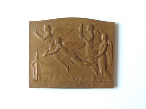 MEDAILLE BRONZE INTERNATIONAL EXPOSITION 1935 WELTAUSSTELLUNG BRÜSSEL  BRUXELLES