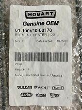 Hobart 01 100v10 00170 Heater Element Proofer Parts Pc800 Mb300 Hpc800