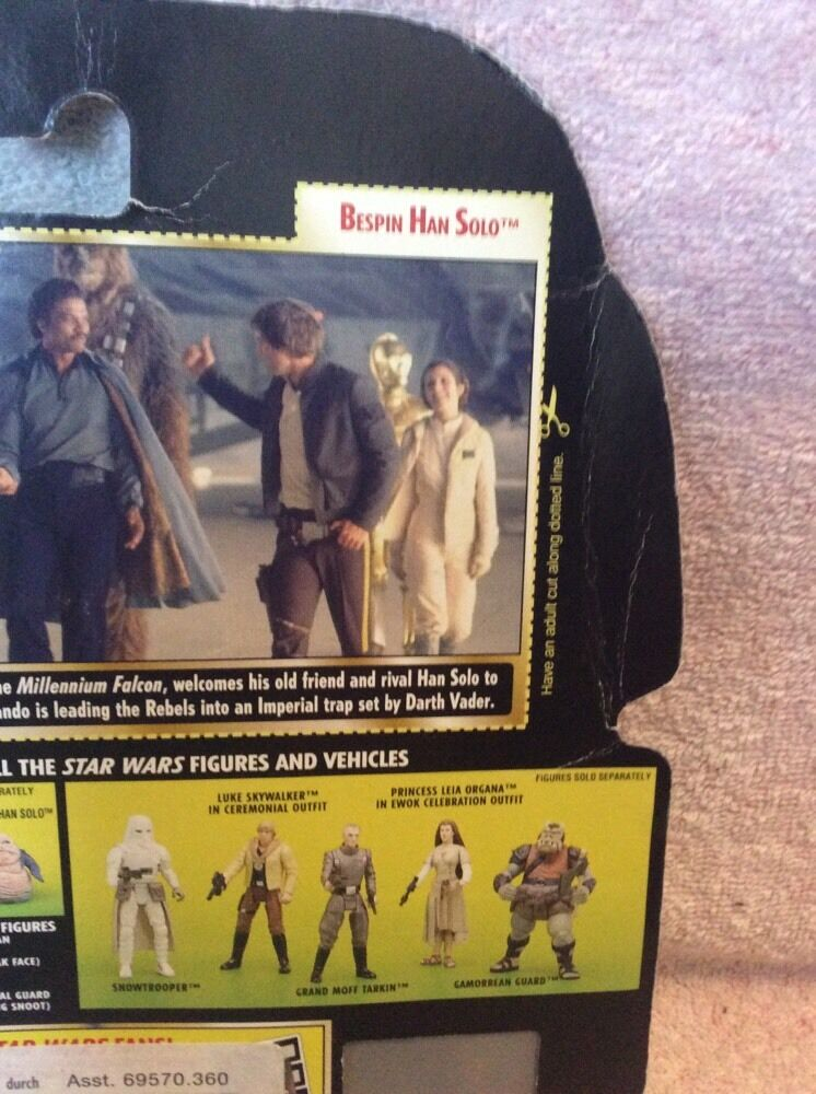 Star Wars Wars Wars Power Of The Force Han Solo Bespin Figure Freeze Frame 09e221