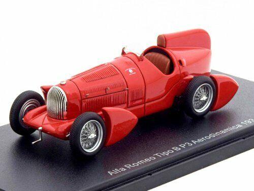 Alfa Romeo P3 Tipo B Aerodinamica 1934 rot NEO46295 1 43