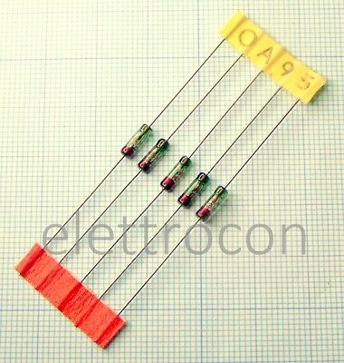 5 pezzi Diodo 1N34A Germanium Diode Radio AM FM TV Detector package DO-7