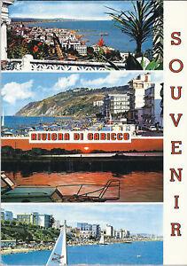 RIVIERA DI GABICCE - SOUVENIR - 4 VEDUTE - V1977 - Italia - RIVIERA DI GABICCE - SOUVENIR - 4 VEDUTE - V1977 - Italia