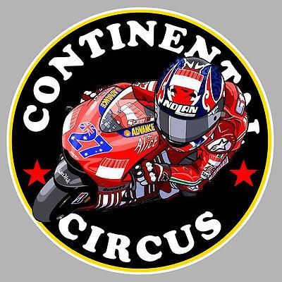 Continental Circus Motogp Biker 9cm Autocollant Sticker Moto Ca172 Aromatic Flavor Auto, Moto – Pièces, Accessoires