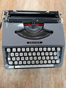 Vintage Brother Portable Typewriter & Hard Case