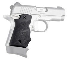 Hogue Kimber Micro 9 Ambi Safety Rubber Grip With Finger Grooves Black 39080