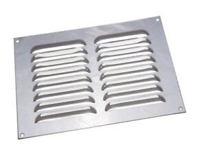 Oferta-de-5-CROMO-BRILLANTE-Cubierta-Rejilla-ventilacion-Louvre-22-9x15-2cm