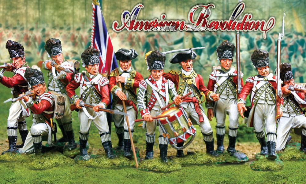 Colectionas Vitrina Americano Revolution 8 Pieza Brit 65533; 65533;nico Granadero Set MIB