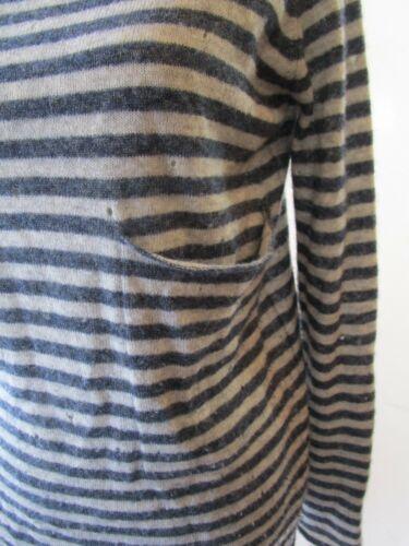 gestreiften Herbst Pullover Xs Kaschmir Größe in Ausschnitte 5xqTg0Cwq