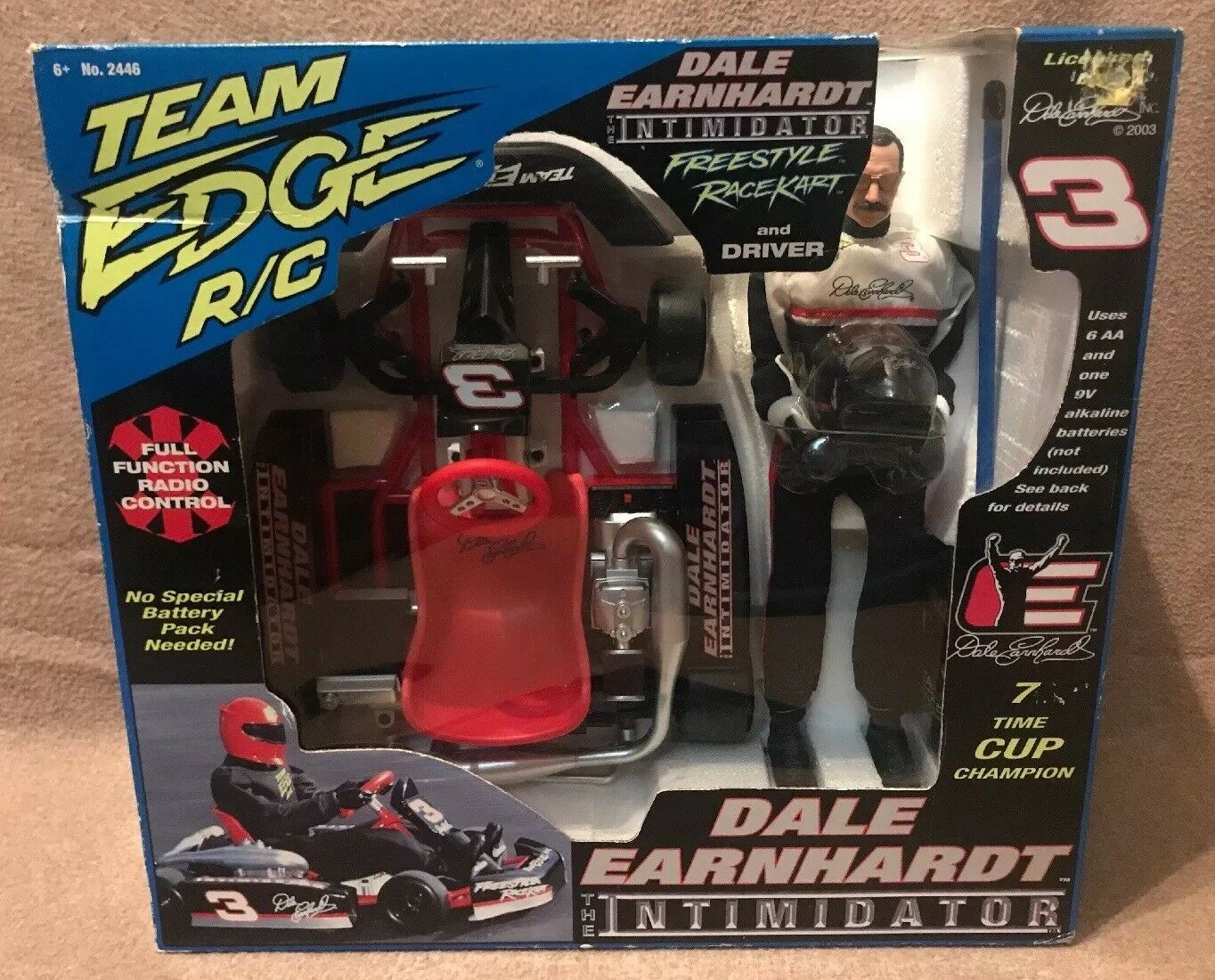 2003 squadra Edge R C Dale Earnhardt The Intimidator gratuitostyle  RaceKart w  Driver  shopping online di moda