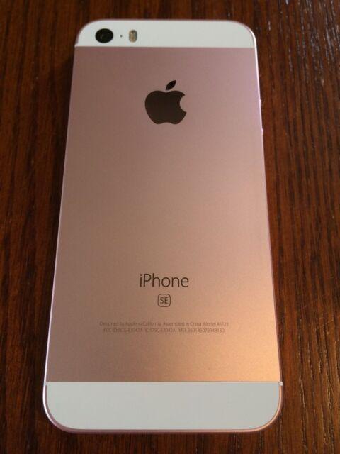 Apple iPhone SE - 16GB - Rose Gold (Telus)