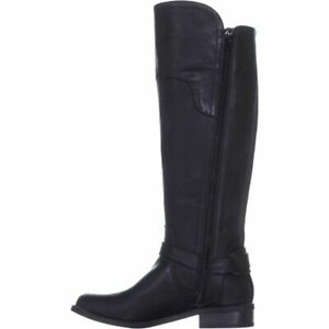G by Guess Women's Shoes Harson5 Closed Toe Knee High, Black/Black, Size 8.5 xMG