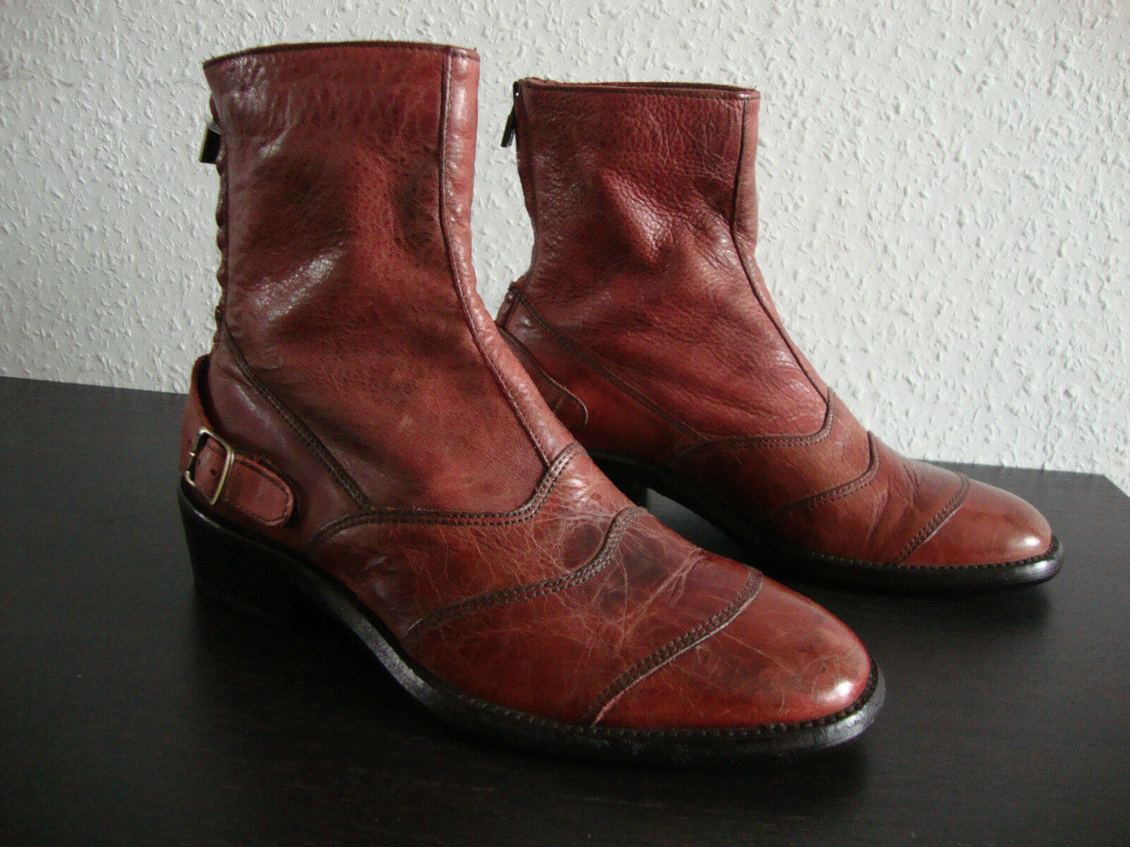 BELSTAFF TRIALMASTER LADY ANTIQUE ANTIQUE ANTIQUE rot Stiefelette Damen Stiefel Schuhe Gr.37 NEU ad4a1a