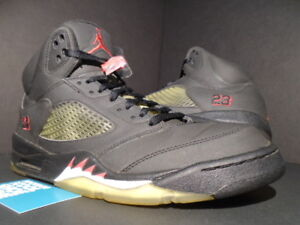 70b8390bad36f4 NIKE AIR JORDAN V 5 RETRO DMP RAGING BULL TORO 136027-061 BLACK FIRE ...