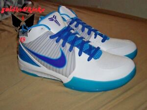 1b106e4ed2ef 2009 Nike Zoom KOBE IV 4 draft day charlotte Hornets 344335 151 ...