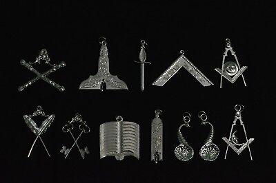 Masonic Blue Lodge Officer Silver Jewels Set, Blue Lodge Jewels, Masonic Jewels | eBay