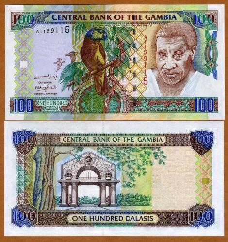24a Pick 24 2001 ND 100 Dalasis Gambia UNC