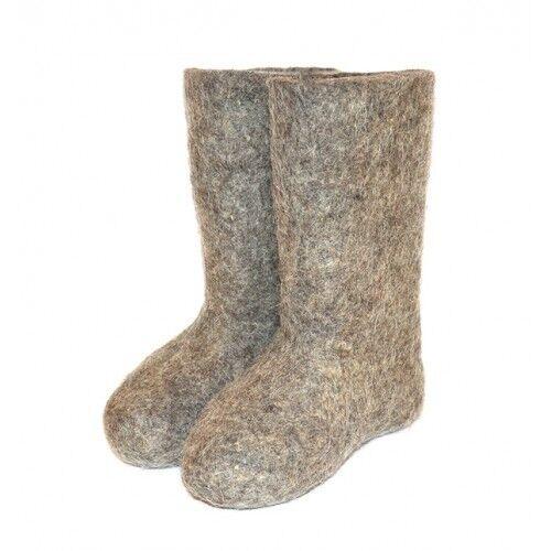 Russian valenki valenki valenki - 100% wool - winter shoes e6b7d6