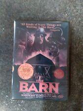 NEW!!! THE BARN (2016) 2 Disc Extended Cut - DVD+BONUS Video Game 80's HORROR