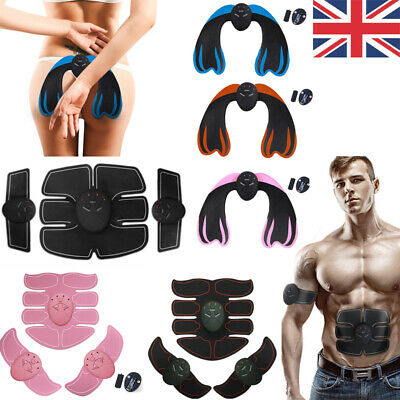Uk Women Men Abdominal Hip Arm Muscle Trainer Toner Abs Fitness Training Machine To Ensure Smooth Transmission