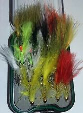 UFS Fly Box Selection 20 Mixed Gold Beaded Fritz, Dancers etc