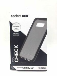 Galaxy-S8-PLUS-3-Mtr-10-Ft-DROP-PROTECTION-Check-SMOKEY-Case-by-Tech21-Boxed