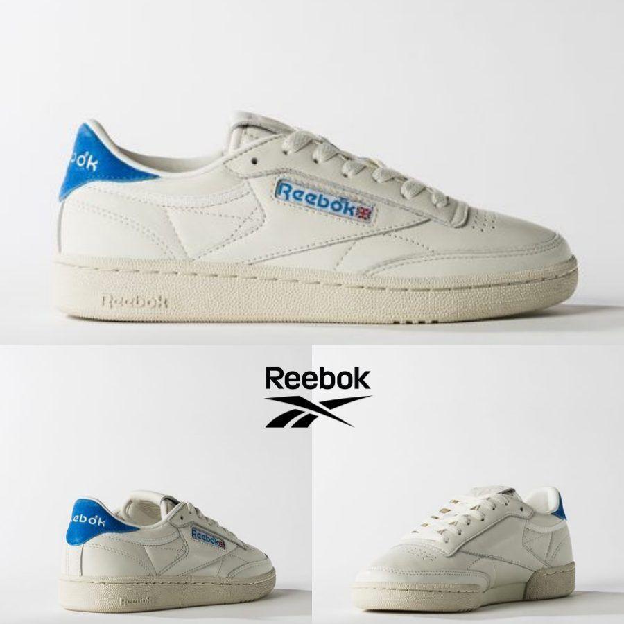 Reebok Classic Vintage Club C 85 TG Vintage Classic Schuhes Weiß Blau BS7032 SZ 5-12.5 b1f977