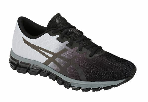 new concept 03fc2 6d8d7 New ASICS Mens GEL-QUANTUM 180 4 Black/Dark Gray Running Shoes 1021A104.002