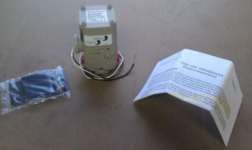 NEW BELLOFRAM T-1000 I//P Transducer 961-070-000 4-20mA 3-15p LATEST REVISION!