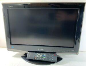 "20"" Sharp Aquos 720p LCD HD TV w/ REMOTE (Working 100%) LC-20D42U HDMI VGA"