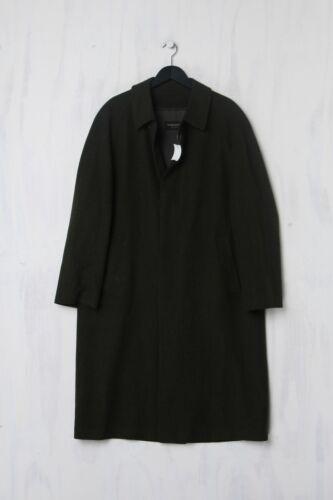 Schneiders Salzburg Overcoat d 50 Army Green abrigo