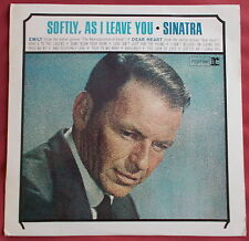 FRANK SINATRA LP ORIG FR  SOFTLY, AS I LEAVE YOU