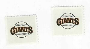 1983-FLEER-BASEBALL-2-STAMPS-SAN-FRANCISCO-GIANTS