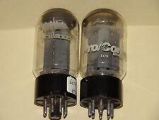 2 Vintage Korean 6L6 GC Plates Vacuum Tubes Very Strong & Balanced Matched Pair