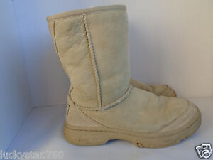 UGG-WOMAN-039-S-TALL-TAN-BOOTS-SIZE-5