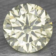 0.46 Cts FANCY RARE YELLOWISH GREEN COLOR NATURAL LOOSE DIAMONDS- SI1