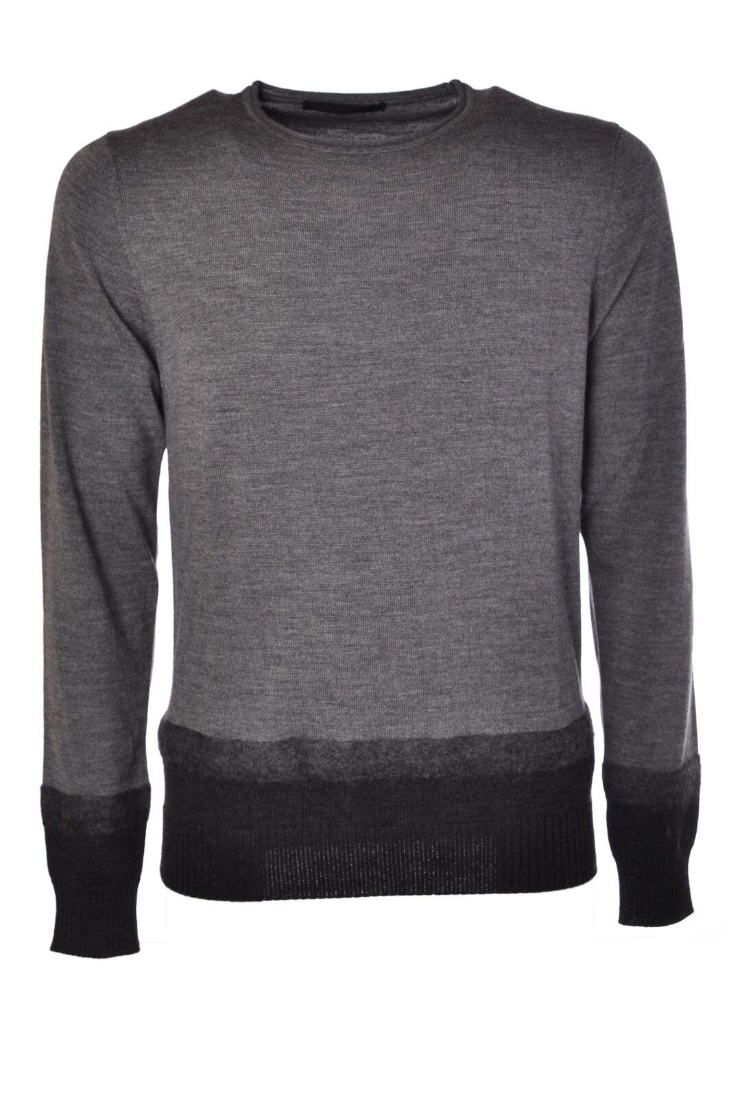 Daniele Alessandrini Gris - Knitwear-Sweaters - Man - Gris Alessandrini - 477615C183714 12a00d