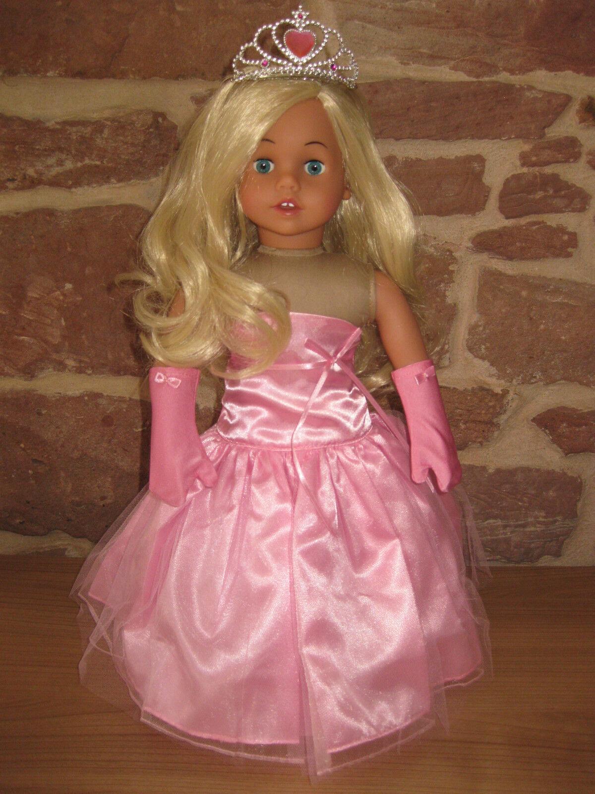 Suave cuerpo muñeca, de pie muñeca, 46cm, cabello rubio, nuevo, 2740, Sophia 's ®