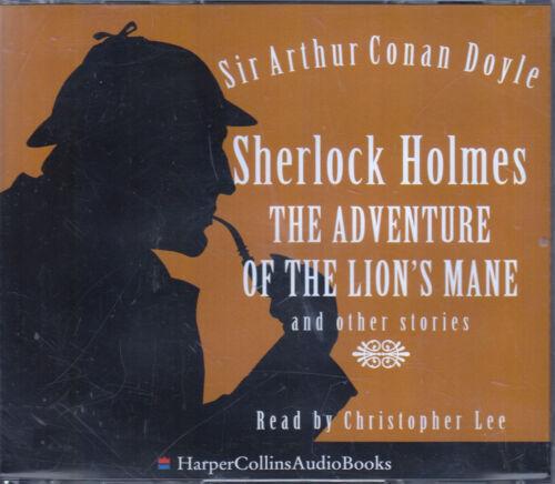 1 of 1 - Sherlock Holmes Adventure of Lion's Mane Arthur Conan Doyle 3CD Audio Book