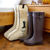 Shoes Storage Organizer Bag Dustproof Tote Packing Cube For Long Boots 2 Colors