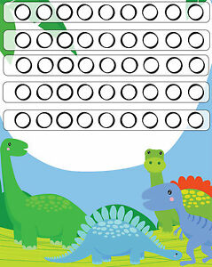 image about Sticker Reward Chart Printable named Data concerning A5 Print - Childrens Dinosaur Profit Chart c/w The Wonderful Dinosaurs Stickers