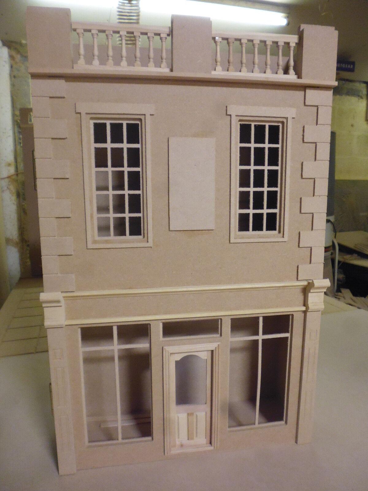Maison Maison Maison de poupées 12th échelle le malbury Shop Kit par Dhd 11eda6
