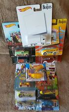 Hot Wheels The Beatles Pop Culture & 50th Anniv. & Yellow Submarine All 12 cars!